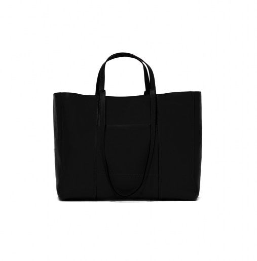 BLACK SHOPPING BAG2