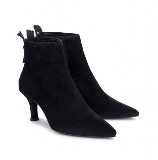 Suede ankle boot_front